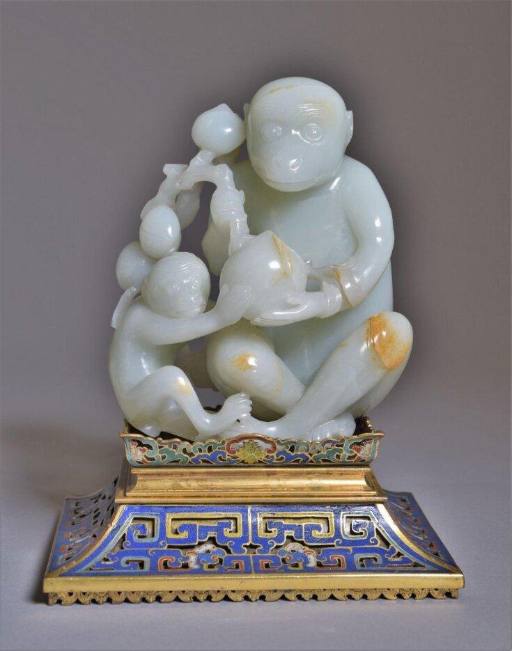 Figure of Two Monkeys top image