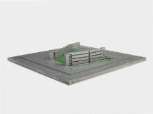 Architectural model of Robin Hood Gardens, Poplar, London, by Alison and Peter Smithson, 1970 thumbnail 1